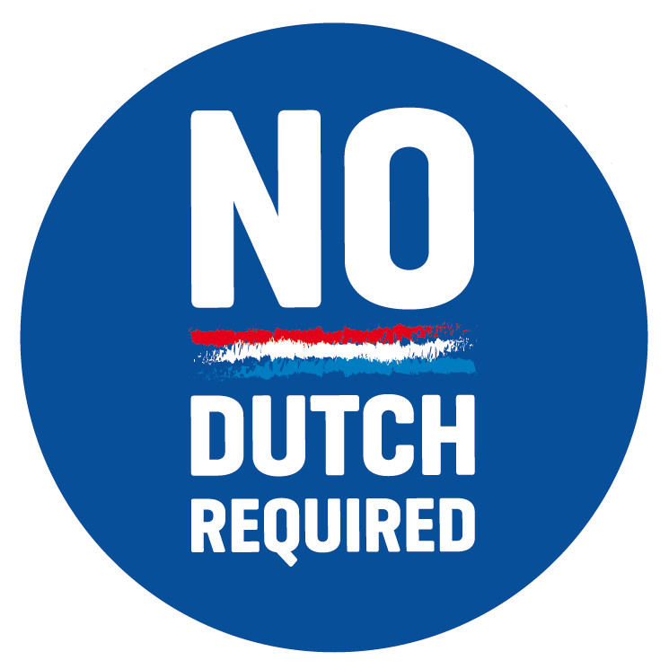No Dutch Required Label