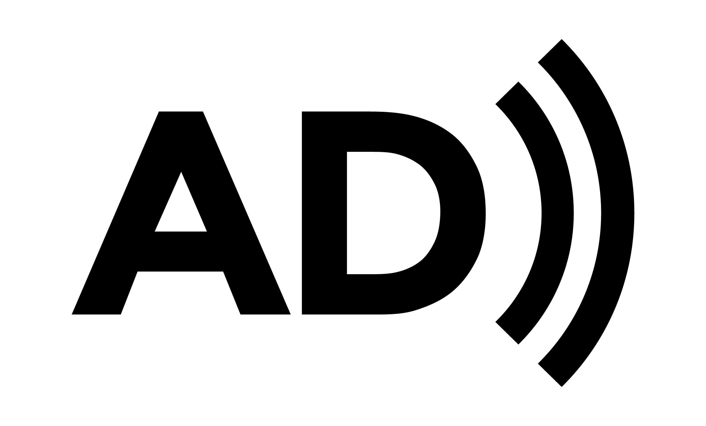 Logo audio descriptie